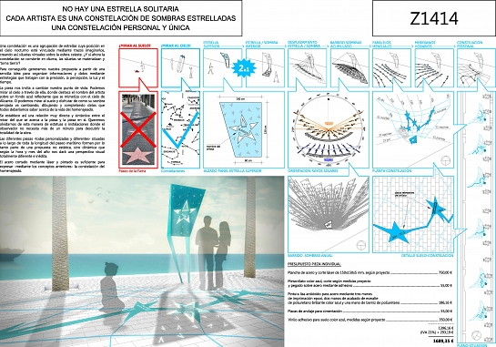 Z1414 - Paseo 'La Luz de las Estrellas' . Alicante . Alacant . España