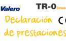 Declaración de prestaciones TR-0 Impact