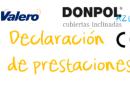 Declaración de prestaciones Donpol Azul