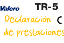 Declaración de prestaciones TR-0