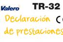 Declaración de prestaciones TR-32
