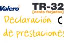 Declaración de prestaciones TR-32 Canto forjado