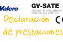 Declaración de prestaciones GV-SATE