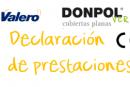 Declaración de prestaciones Donpol Verde