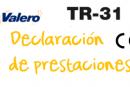 Declaración de prestaciones TR-31