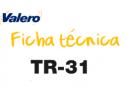 Ficha técnica TR-31