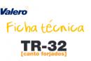Ficha técnica TR-32 Canto forjado