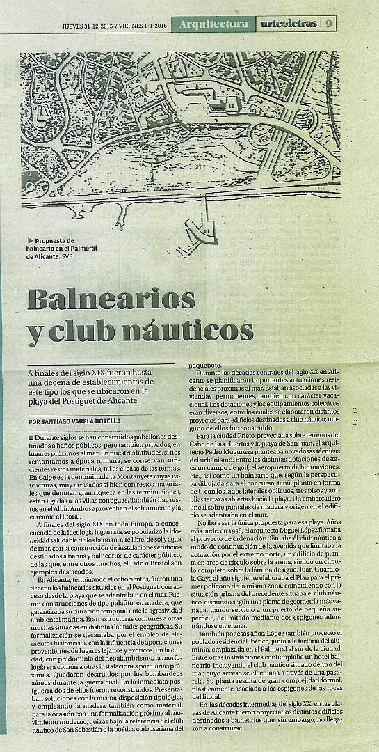 ARTÍCULOS PRENSA DIARIO INFORMACIÓN