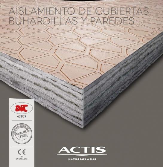 Aislamiento térmico de cubiertas y fachadas