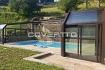 Cubierta de piscina adosada