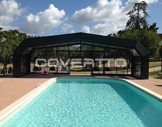 Cubierta de piscina Casa Rural