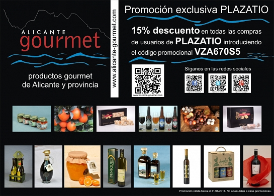 Presentación ALICANTEgourmet en Plazatio