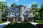 Diseño clásico exterior Residencial Casa
