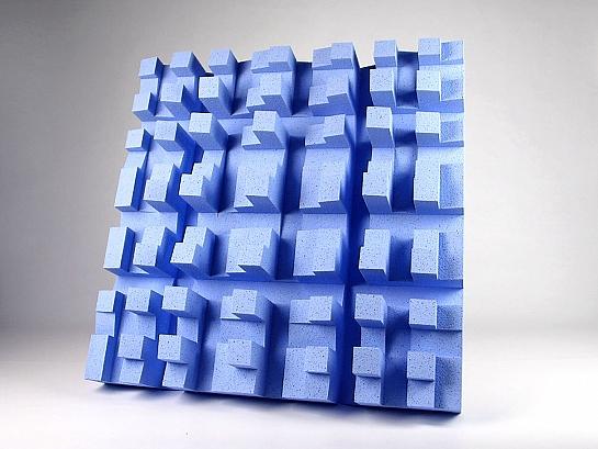 Difusores acústicos EliAcoustic Fussor 3D Pure (2 unidades)