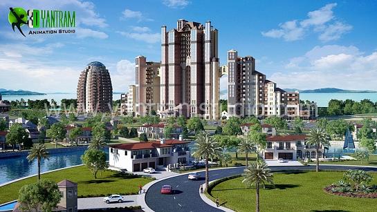 Apartamentos modernos Exterior residencial