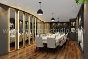 Rendimiento moderno del diseño interior