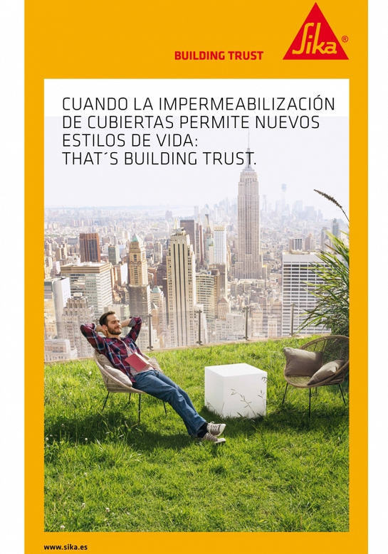 Catálogo de productos Sika, sostenibilidad.