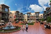 El estilo diferente ideal Courtyard Exterior Design