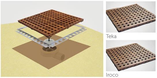 Dry50 Wood Flat 70 Teka